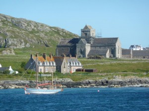 Iona from the ferry