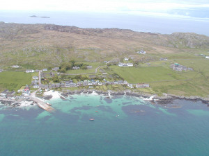 Iona taken from a light aircraft